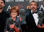 Palmarés Premios Goya 2016