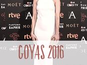 Premios Goya 2016 alfombra roja