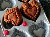 Mini corazones chocolate blanco frambuesas. Reto Valentín.