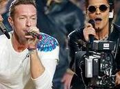 Coldplay, Beyoncé, Bruno Mars Lady Gaga actuaron Super Bowl