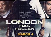 "Póster final primer spot ""objetivo londres (london fallen)"""