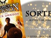 GANADOR SORTEO Percy Jackson dioses griegos