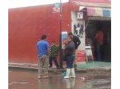 Fuga aguas negras enferma niños Colonia Pedroza