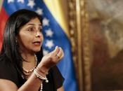 Delcy Rodríguez acusa canciller mexicana apoyar terrorismo Venezuela