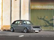 Volkswagen Golf Cabrio MKI. Producto años trabajo