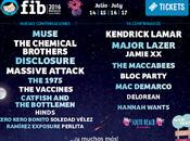 Muse, Chemical Brothers Massive Attack entre Nuevas Confirmaciones 2016