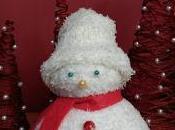 Muñeco nieve arbolitos.