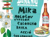 Mika Molotov Jukebox, festival Bona Barcelona 2016