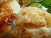 Trozos bacalao frito Baccalà fritto
