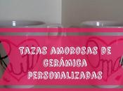 Tazas amorosas ceramica personalizadas