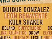 Sonorama Ribera 2016 Confirma León Benavente, Belako, Kula Shaker, Quique González...
