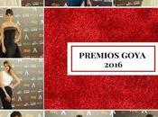 Alfombra roja Goya 2016