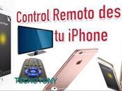 Control remoto desde nuestro iPhone