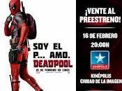 gustaría asistir preestreno Deadpool?