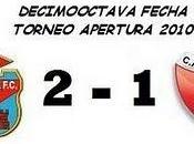Arsenal:2 Colón:1 (18° Fecha)