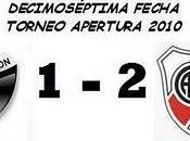 Colón:1 River Plate:2 (17° Fecha)