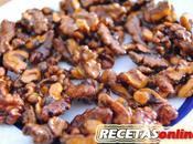 Nueces caramelizadas (con vídeo)