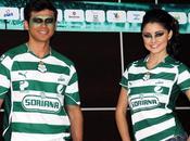 Nuevos uniformes Puma Santos Laguna 2011