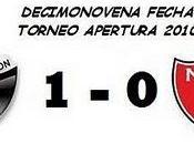Colón:1 Newell's Boys:0 (19° Fecha)
