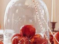 decorar manzanas