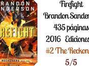 *Reseña: Firefight Brandon Sanderson*