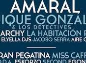 Festival Gigante 2016: Amaral, Quique González, Monarchy, Habitación Roja, Grises...