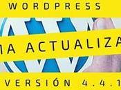 Actualización seguridad WordPress 4.4.1