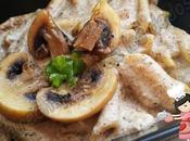 *Macarrones salsa champiñones (tradicional Olla GM-E Thermomix)