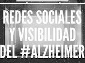 Redes sociales visibilidad #alzheimer
