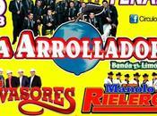 Arrolladora Banda Limón gran baile Luis Potosí