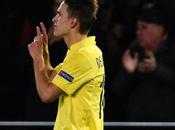 Gran Denis Suarez Villarreal-1 Nápoles-0 (Video)
