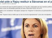 Cospedal pedía Rajoy restitución Luis Bárcenas porque culpa corrupción tenía fiscalía
