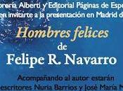 """Presentación """"Hombres Felices"""" Felipe Navarro"""