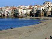 Cefalú pueblo cine Sicilia
