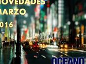 Novedades Editorial Oceáno Argentina para Marzo