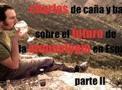 Charlas caña barra sobre futuro arqueología España. Parte