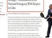 ¡Ay, vecino!: Obama prorroga emergencia respecto Cuba
