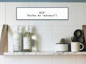 DIY: balda falso mármol
