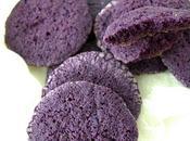 Galletas violetas crema queso galleta cuento Febrero sirenita