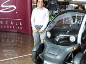 Scala Shopping entregó Renault Twizy clientes