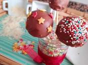 Cake pops chocolate