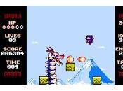 Impresiones Ninja Senki pequeño sprite pixelado ataca nuevo
