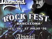 Rock Fest Barcelona 2016 confirma King Diamond