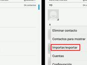 Como gestionar contactos Android desde
