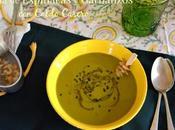 Crema Espinacas Garbanzos Caldo Casero