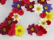 Diy: números flores