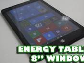 Energy Tablet Windows, buena tablet para productividad ocio
