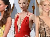 claves peinados Alicia Vikander, Charlize Theron Jennifer Lawrence Oscars