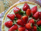 Tarta hojaldre fresas crema pastelera