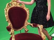 vestido negro Luján Argüelles #PrincesasSemifinal